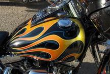 Custom Shop / Airbrushing projects done with Custom Shop products from TCP Global