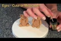 Sugarcraft Tutorials  / Easy to follow, step by step video tutorials to help you create sugarcraft models and ides for cake decorating.
