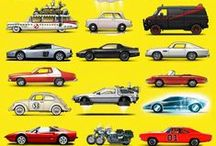 Auto - cars in film - art poster / by Foto Maik