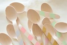 DIY wooden spoon, forks & knife