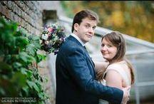 October wedding of Katie & Stephen / Friday 18th October 2013 Photographer = Lauren Rutherford