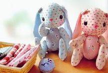 Toys of fabric / stof tøjdyr legetøj