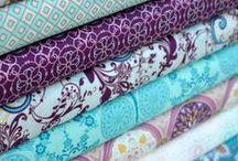 Fabrics / div. skønne stoffer + stofsteder