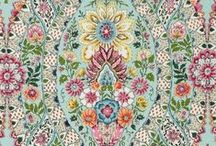 FABRICS AND TEXTILES / Texture and design - fabric is everything