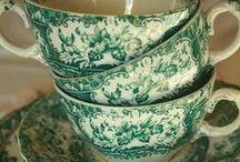 TEA INTERIORS / Desirable Tea Sets & the Ritual of Drinking Tea