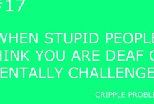Cripple problems