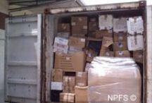 container 2012 / Événement organiser par l'association NPFS, l'envoi d'un container, qui a pour but d'envoyer des produits alimentaire, d'hygiène, des vêtements, des chaussures pour les orphelins Haïtiens habitants dans nos trois orphelinats à Port-au-Prince