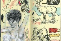 Sketchbooks! / Sketch books ideas