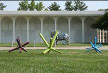 Sculpture Park / Photos at Cedarhurst Center for the Arts Goldman-Kuenz Sculpture Park. www.cedarhurst.org #CedarhurstArts