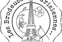 Atmosphère les Brodeuses Parisiennes / Point de croix