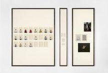 Exhibit / exhibit sculptures, photos or other pieces of art