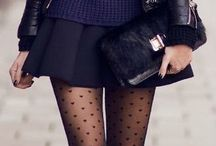 OUTFIT | Tights / Wearing tights.