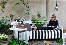 Gute Gärten / Ein schöner, lässiger Garten zum Wohlfühlen mit einem Hauch von Hippie-Lebensgefühl: hier gibts jede Menge Anregungen dafür...