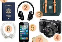 Travel Essentials / Odds and Ends that make travelling easier for you!