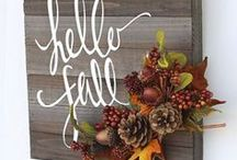 Fall Decorations Inspiration