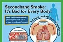 Secondhand Smoke / Information about secondhand smoke.