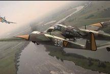 nederlandse vliegtuigen / de nederlandse luchtmacht