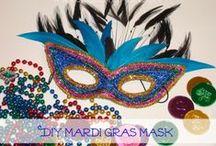 DIY: Mardi Gras Masks