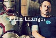 Iron Suit means Iron Stark / Tony Stark & his Almighty Ego. And, sometimes, someone else. / by Chirsine