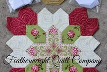 Featherweight Quilt Company / Featherweight Quilt Company Pinterest Board! Pins for  ENGLISH PAPER PIECED PROJECTS https://www.etsy.com/shop/FeatherweightQuiltCo?ref=si_shop