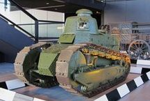 the renault FT 17 / this is about the first modern tank in WW1 the french renault FT 17