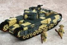 lego tanks / about all lego tanks i can find