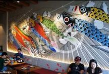Japanese Theme Mural (Wall Painting)