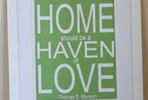 "Home Sweet Home / ""Home Sweet Home"" contains quotes about what makes a house a home. / by Brock Realty Group"