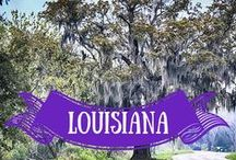 LOUISIANA ♡ / What to do and what to see in LOUISIANA ? Louisiana free travel guides ✈ Plan your trip and go! // Do you like this board? Visit my travel blog :) http://travelingilove.com