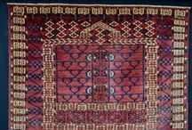 Turkmen Rugs & Weavings / All types of Turkmen rugs and weavings from tribes such as Tekke, Salor, Saryk, Yomud, Ersari.