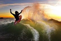 skimboarding / by SUXION SURF