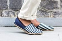 Espadrilles / Summer shoes never looked this stylish. Try these handmade espadrilles for men and up your style quotient.