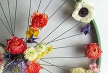 -Communication Visuelle- / #lesmauvaisesherbes #flowershop #illustrator #shooting #event #wedding #florist #artist #artisan