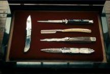Knives / Focus on Italian Stillettos like Frank Beltrames & A.G.A. Campolins