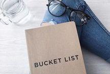 ♥ Besties Bucket List ♥