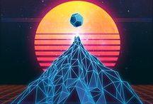 Synthwave & Outrun Aesthetics