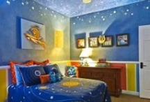 Kids Bedooms and Bathrooms / Western, Nautical, Nature, Ocean, Princess, Space ... popular themes for children's bedrooms and baths.