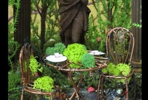Miniature gardening / Ideas on how to make a miniature garden