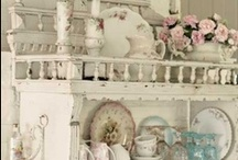 Shabby chic and Vintage inspiration <3