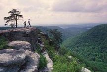 Big South Fork National River & Recreation Area / 125,000 acres of preserved scenic wilderness within the Cumberland Plateau