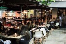 """FUENCARRAL 43 / Localizado en la calle Fuencarral 43, es el tercer establecimiento que la marca abrió en Madrid, apostando por una de las zonas de mayor crecimiento #multicultural y económico de la capital.  El restaurante, diseñado por el interiorista #IñigoGüell, ofrece un local exclusivo donde juegan la combinación de madera y luz, junto con un original botellero tras la barra. LTL Fuencarral, se ha convertido en un lugar de referencia para cenar en una de las zonas más """"canallas"""" de #Madrid ."""