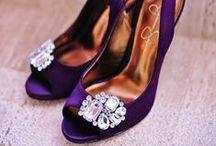Lila esküvői cipő/Purple wedding shoes / Ki mondta, hogy csak fehér lehet? #esküvőicipő #esküvő #weddingshoes