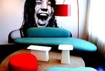 color- interior style / colorful interiors