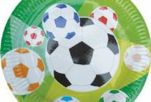 Football Party Supplies / Great value football themed party supplies, Invite your friends round and throw a Football themed party around watching the big match! Our Football party supplies will help you make your childrens football party a great success We have a range of Football decorations, Football flags, Football plates, cups, football napkins, tableware and more. Shop easily online.