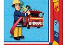 Pre-School: Fireman Sam Party supplies / A range of Fireman Sam Party Supplies & Decorations ideal for children's parties