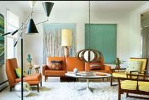 interiors-retro modern / retro modern interior architecture