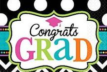 Graduation Party Supplies /  See our range of graduation party supplies, decorations, graduation invitations, and other graduation party supplies. We have Graduation Tableware, Congrats Banners, Confetti & Lots More