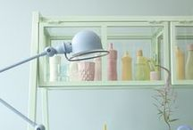 color-pastel interior style / color pastel style