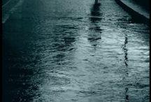 water - rain - tears