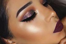 Glam / Makeup addict.